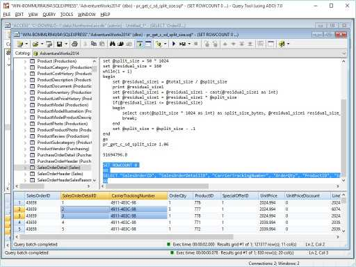 Download Query Tool (using ADO) 7.0 x64 Edition