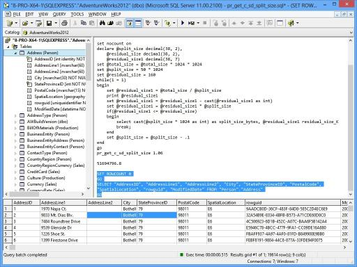 Download Query Tool (using ODBC)