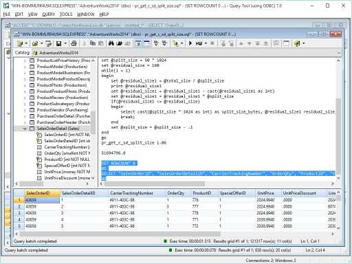 Download Query Tool (using ODBC) 7.0 x64 Edition