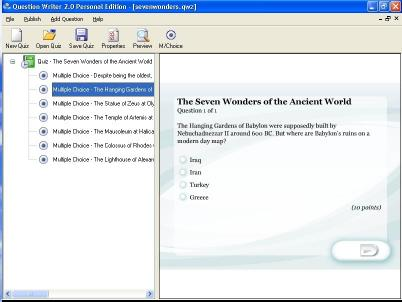 Download Question Writer 3 Basic