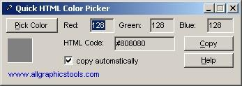 Download Quick HTML Color Picker