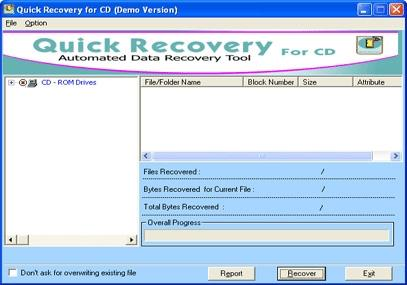 Download Quick Recovery for CD