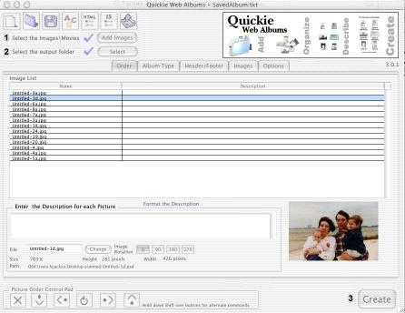 Download Quickie Web Albums