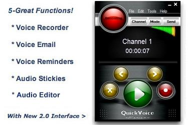 Download QuickVoice for OSX