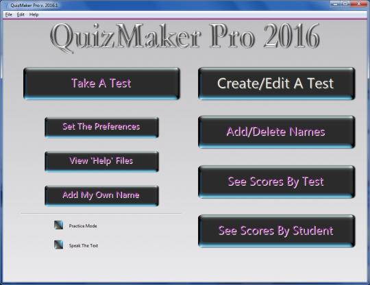 QuizMaker Pro for Mac