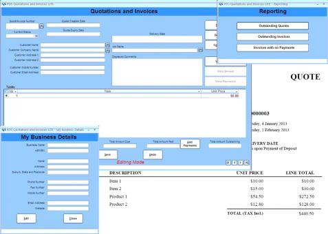 Download Quotations and Invoices LITE