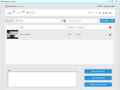 Qweb Video Converter