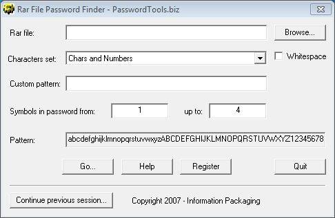 Download RAR Password Finder