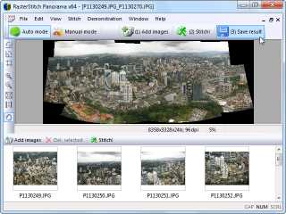 Download RasterStitch Panorama