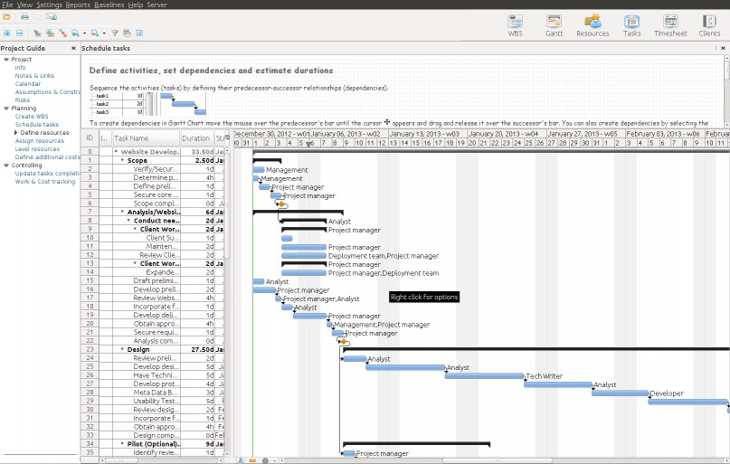 Download RationalPlan Project Viewer for Linux