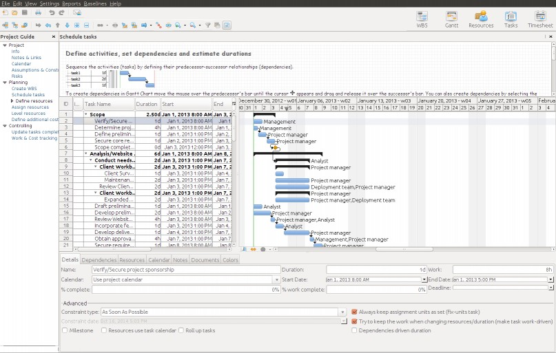 Download RationalPlan Single Project for Linux