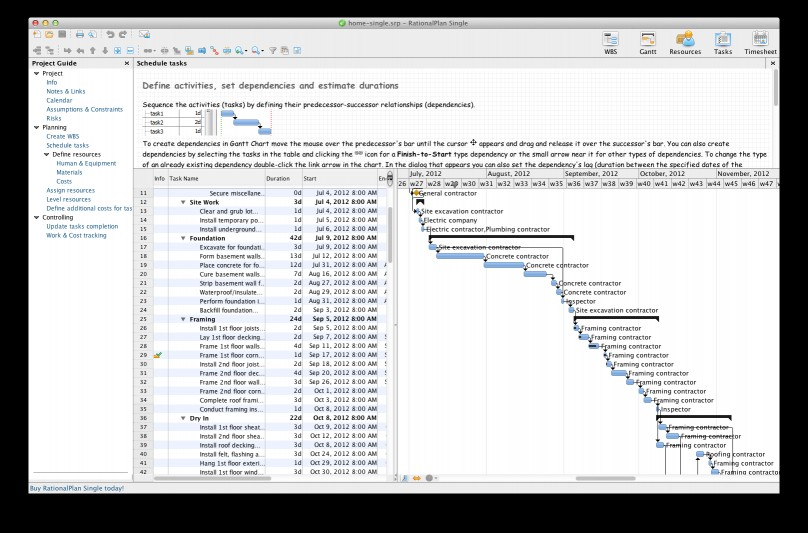 Download RationalPlan Single Project for Mac