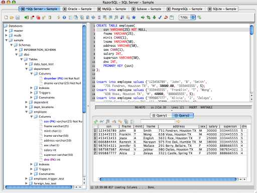 Download RazorSQL (OSX)