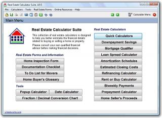 Download Real Estate Calculator Suite
