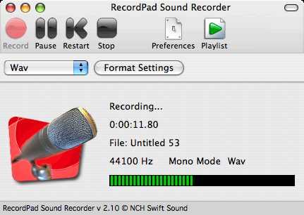 Download RecordPad Sound Recorder for Mac