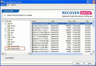 Download Recover Data for Linux