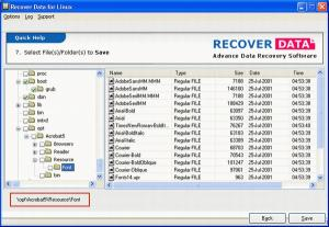 Download Recover Data for Linux on Linux