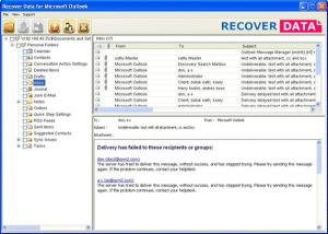 Download Recover Data for Microsoft Outlook