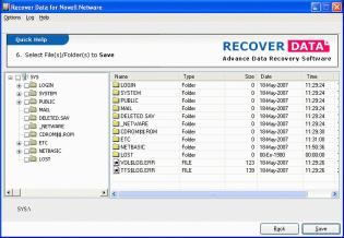 Download Recover Data for Novell