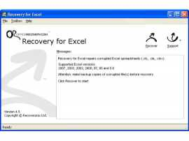Recovery for Excel by Recoveronix