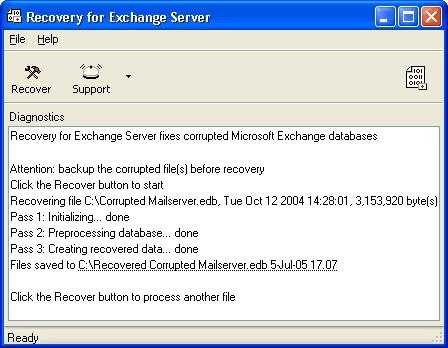 Download Recovery for Exchange Server
