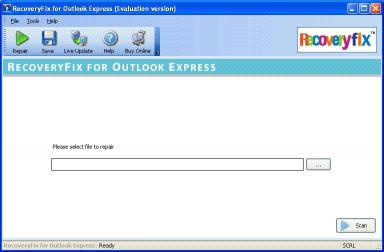 Download RecoveryFix for Outlook Express
