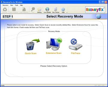 Download RecoveryFix for Windows