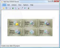 Download Red-Hot CD/DVD Burner