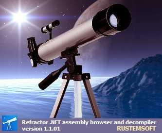 Refractor freeware .NET Decompiler