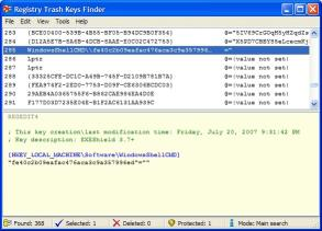 Download Registry Trash Keys Finder