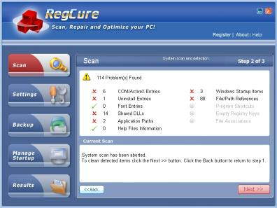 Download RegistryCure (registry cleaner)