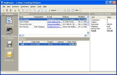 Download RegKeeper- e-Sales Tracking Software