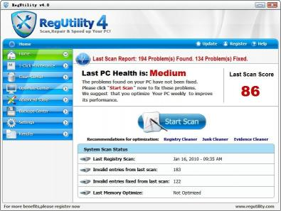 Download RegUtility