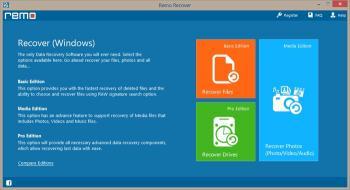 Download Remo Recover (Windows) Media Edition