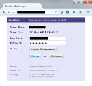 Download Remote Reboot Utility