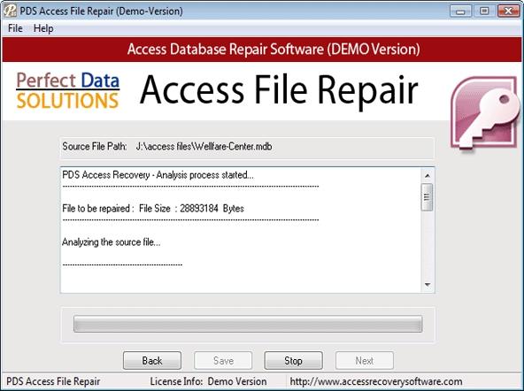 Repair Microsoft Access Database - standaloneinstaller com
