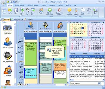 Download Repair Shop Calendar