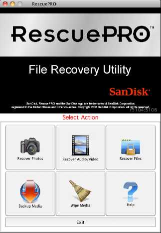 Download RescuePRO for OS X Mac
