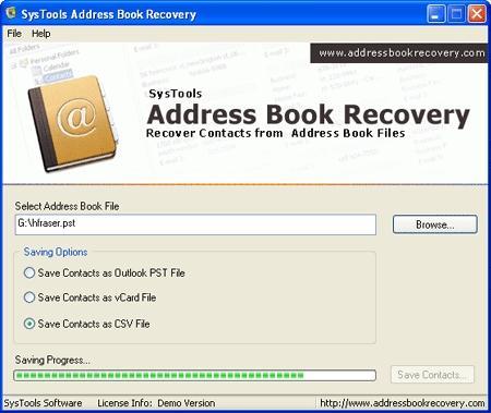 Download Restore Outlook Address Book