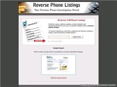 Download Reverse Cell Phone Lookup