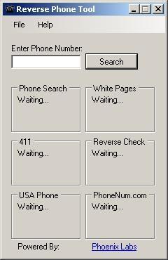 Download Reverse Phone Search Tool