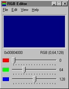 Download RGB Editor 2000