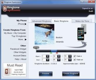 Download Ringtone Expressions