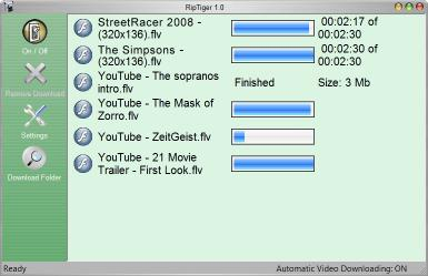 Download Rip Tiger - Capture Any Web Video