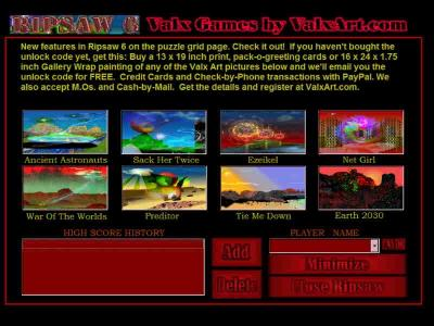 Download RipSaw6 Abstract Art Puzzle