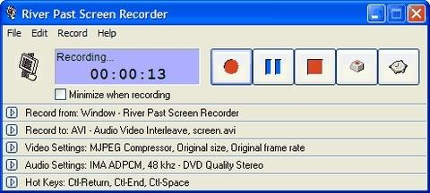 Download River Past Screen Recorder Pro