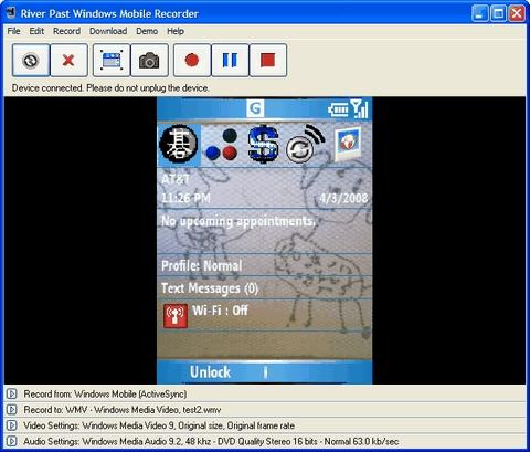 Download River Past Windows Mobile Recorder