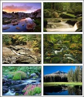 Download River Scenery Screensaver