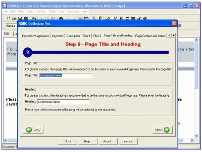 Download ROBO Optimizer Pro Search Engine Optimization