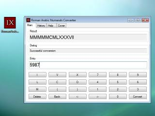 Download Roman Arabic Numerals Converter